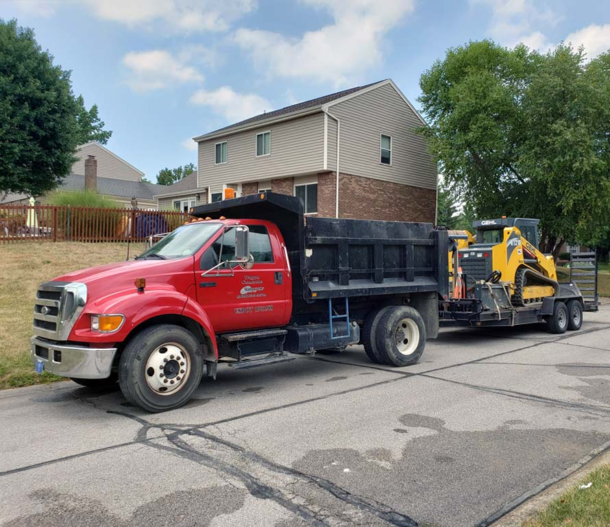 Residential excavation equipment